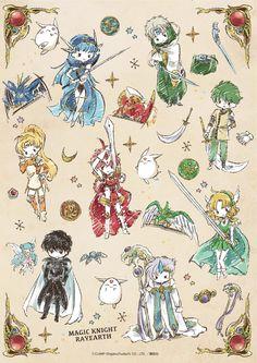Magic Knight Rayearth Gears Up for Anniversary with New Merch Chibi Kawaii, Kawaii Anime, Manga Anime, Anime Art, Cardcaptor Sakura, Magic Knight Rayearth, Xxxholic, Card Captor, Dibujos Cute
