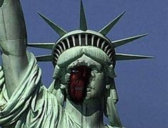 I don't trust the statue of liberty. First Doctor Who now Attack on Titan ...