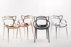 Kartell-Metal-Masters-Chairs
