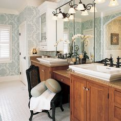 Stafford Brown Cambria Bathroom