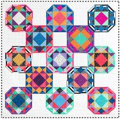 Quilts, Free Quilt Patterns and Designer Patterns: Robert Kaufman Fabrics Sampler Quilts, Star Quilts, Easy Quilts, Quilt Blocks, Quilting Tutorials, Quilting Projects, Quilting Designs, Quilting Tips, Pinwheel Quilt