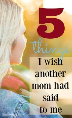 As a younger mom, I would have loved to hear these words from an older mom who remembered what it felt like, and who could assure me it would get better. Parenting is hard and mothering is kingdom work. Moms don't need more advice, they need more hope. Mothers of young children especially need encouragement.