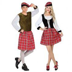 Déguisements Écossais Kilt #déguisementscouples #nouveauté2016