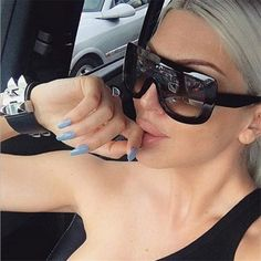CHUN M32 Luxury Sunglasses Women Fashion Retro Brand Designer Sun Glasses For Ladies UV400 Mirror Lens Female Vintage Oculos