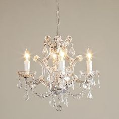 Round Crystal Chandelier   Chandeliers   By Shades Of Light