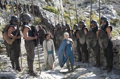Pin for Later: New Game of Thrones Pictures: Daenerys's Dragons Are All Grown Up!  Let's march!