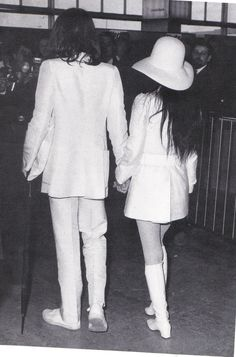 White Wedding Yoko John