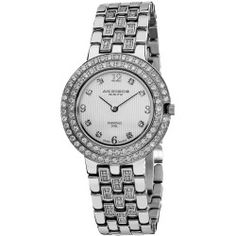 http://best-watches.chipst.com/akribos-xxiv-impeccable-diamond-silver-tone-bracelet-ladies-watch-ak598ss/