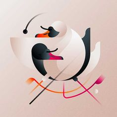 The Birds on Behance Art With Meaning, Painting Courses, Behance, Colorful Birds, Design Development, Bird Art, Digital Illustration, Color Splash, Paper Art