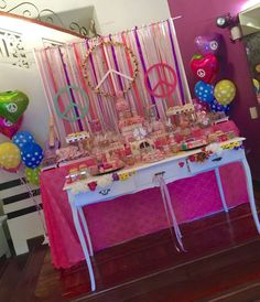 Hippie Chic Birthday Party Ideas   Photo 1 of 20   Catch My Party