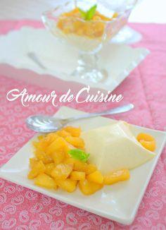 [Miam] Panna cotta aux pommes caramélisées - Amour de cuisine @amour2cuisine