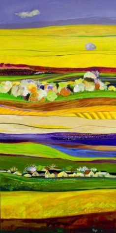 """Parviz Payghamy """"Peacefull Yellow"""" ~ Born in Iran and Living in California"""