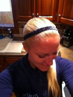 """Love this review of Sparkly Soul nonslip headbands by Blonde Ponytail Fitness - Thanks for the love- we heart you back! http://blondeponytail.com/2012/10/my-weakness/  """"I love this charcoal Sparkly Soul headband. Now that I wear gym clothes a majority of the time,  I have to find ways to accessorize, not that I have ever been good at that! I love these headbands because they have non-slip backing the entire way around. My hair is really fine, so most head bands slip right off during any…"""