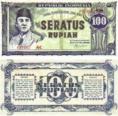 Uang Rupiah Jaman Dulu ~ Indonesia Online Money Notes, Founding Fathers, Traditional Art, Archaeology, History, Barber, Collections, School, Poster
