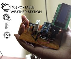 Recently my college had a small science exhibition .So i was requested by my teacher to present a project in the college to teach young students about electronics so basically i had two days to make some thing.As the climatic conditions over here are varies a lot and recently the temperature is somewhere around 34-40 degree Celsius. So i decided to make a weather station.NOTE:This is accepted for sensor contest so do vote for me .if you like the project.So what does a weather station do ?A…