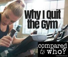 WOW! While most people are joining gyms this woman quit. Amazing story of hope here if you struggle with body image!
