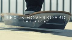 Watch how they mastered hover technology.. The Lexus Hoverboard. Recommended by Andrea Beaty, author of Rosie Revere Engineer and ONE GIRL [Abrams 2017]. www.andreabeaty.com