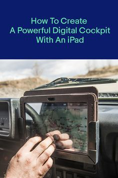 Create a Powerful Digital Cockpit with an iPad on Your Car Dashboard Tablet Gps, Tablet Mount, Truck Tool Box, Truck Tools, Ipad Car Mount, Ford Sport Trac, Travel Buggy, 4x4, T3 Bus