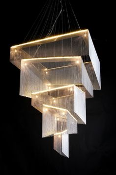My future Geometric Storm chandelier by Willowlamp, which I guess will have to hang above the spa bath in the guest wing.