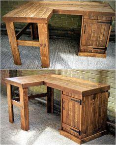 pallet pc table idea
