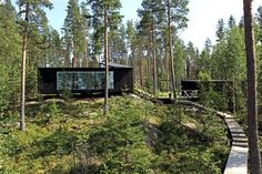 Cabins And Cottages: Lakeside House / NOW for Architecture and Urbanism. Nature Architecture, Architecture Company, Installation Architecture, Building Architecture, Tyni House, Pole House, Cabins And Cottages, Cabins In The Woods, Dream Properties