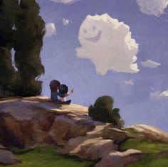 Нежные романтические иллюстрации Zac Retz