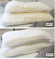 Aprenda a lavar travesseiros - Show de Dicas