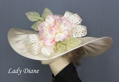 Image detail for -Kentucky Derby Dress Hats, Derby Hats, Fashion Hats - Lady Diane Hats