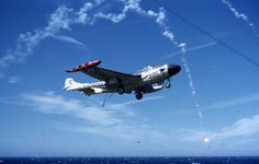 Click image to close this window Navy Aircraft, Military Aircraft, De Havilland Vampire, Navy Carriers, Aircraft Carrier, Royal Navy, Helicopters, Venom, Jets