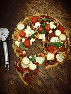 GATIM, MANCAM, SAVURAM: Gluten free pizza cu blat din mei
