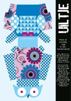 ~Blauw uiltje om uit te printen via Brievenbusdroom.nl~