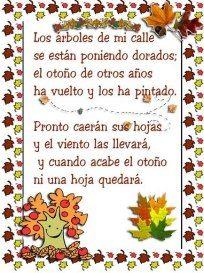 ¡¡ Llega el otoño !!. Actividades para la llegada del Otoño