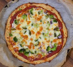 Cooking with Jax: Cauliflower Crust Pizza - made by someone I actually I know…they were pleasantly surprised.