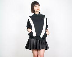 Vintage Oscar De La Renta Sweatshirt Black by ShopTwitchVintage
