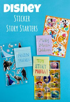 Disney Sticker Story
