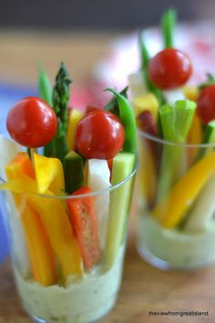 creative healthy christmas vegetarian party starters - Google Search