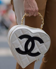 Chanel heart handbag