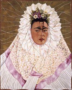 Frida Kahlo  Autoritratto come Tehuana o Diego nei miei pensieri