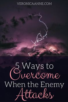 I can overcome when the enemy attacks! Here are 5 main strategies.