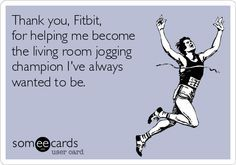 Lol I walk around my house every day. Just call me the living room jogging champion. Thanks!