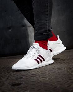 best website 9e1cc 2c3e8 adidas EQT Support ADV WhiteScarlet