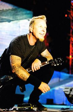 James Hetfield - His lyrics got me through some stuff. Always a special place in my heart.