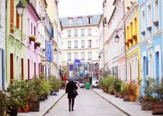Rue Cremieux in Paris.