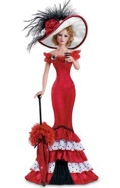 """""""Sweet sofistication """" Coca Cola collectible doll della Ashton Drake, in porcellana, è alta circa 45 cm."""