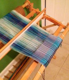 Tea towels on the rigid heddle loom - Craftsy.com online weaving class.