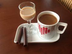Turkish coffee with baileys