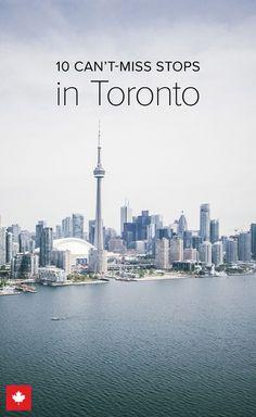 Toronto is the perfect destination for a trip to Canada Toronto Vacation, Toronto Travel, Toronto Tourism, Cn Tower, Visitar Canada, Tour Cn, Toronto Zoo, Toronto Life, Quebec