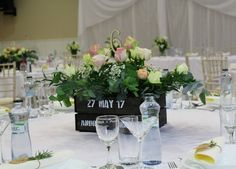 Wedding flowers box