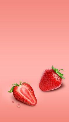 Nutrition Shakes Near Me Glam Wallpaper, Food Wallpaper, Cute Wallpaper Backgrounds, Phone Backgrounds, Cute Wallpapers, Sunrise Wallpaper, Wallpaper Frutas, Strawberry Wallpaper, Nutrition Drinks