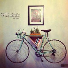 New Bike Storage Diy Apartment Art Ideas Bike Storage Shelf, Bike Shelf, Bicycle Storage, Diy Storage, Wall Storage, Storage Ideas, Bike Storage In House, Diy Bike Rack, Bicycle Rack